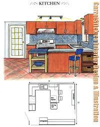 Kitchen Drawings Best 25 Kitchen Layouts Ideas On Pinterest Kitchen Layout