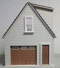 one car garage workshop 1 12 scale
