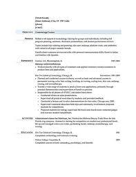 Cosmetics Sales Resume Cosmetic Resume Examples