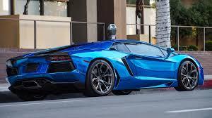 Lamborghini Aventador Chrome - blue chrome lamborghini aventador 4608x2592 oc carporn