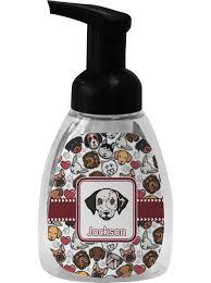 dog faces foam soap dispenser personalized potty training concepts