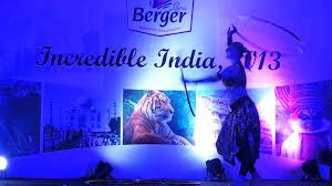 performance by our dancers in japiur for louis berger paints