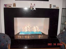Fireplace Burner Pan by Stainless Steel Burner Pans Fireplace Fire Pit Glass