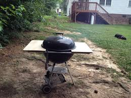 how to build a weber grill table weber grill table