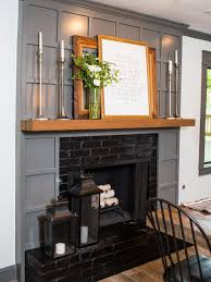 to decorate a mantel fixer upper style