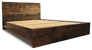Walnut Bed Frames Walnut Bed Frame Platform Bed Frame And Headboard Set Contemporary