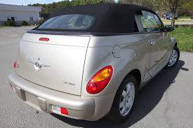 2005 chrysler pt cruiser touring convertible chantilly