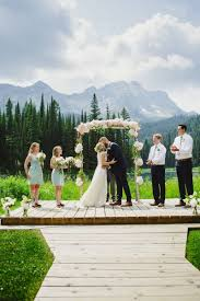 Thepinkpeonies Incredible Island Lake Lodge Wedding Fernie Wedding