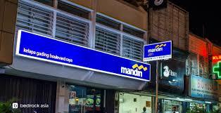 Bank Mandiri Rebranding Bank Mandiri Retail Image Shocase