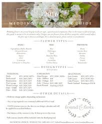 wedding flowers guide wedding flower price guide found flora 543 n linden wahoo