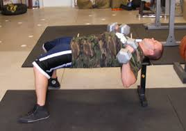 Bench Exercises With Dumbbells Dumbbell Press With Resistance Bands Exercise Example