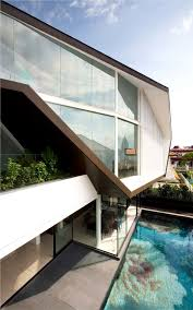 Creative Architects And Interiors Origami House By Formwerkz Architects Origami Architects And House