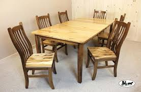 amish built kitchen cabinets amish made kitchen chairs this elegant elm wood dining set is our