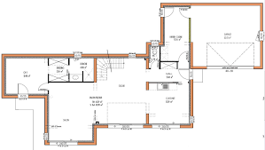plan maison moderne 5 chambres plan maison moderne 5 chambres immobilier pour tous immobilier