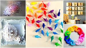 Diy Home Decor Wall Art Wall Art Ideas With Paper Wallartideas Info