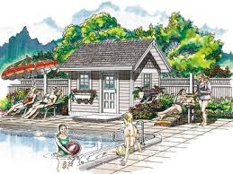 Garage Pool House Plans by Page 3 Of 4 Pool House Plans And Cabana Plans The Garage Plan