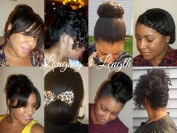 simple hairstyles for relaxed hair pretty hairstyles for protective hairstyles for relaxed hair best