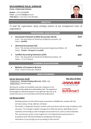 50 professional accountant resume example accountant