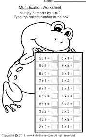 multiplication worksheets grade 1 free worksheets library