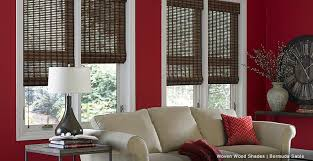 Wooden Curtains Blinds Purchase Woven Wood Shades From 3 Day Blinds Today