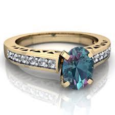 lab alexandrite art deco ring r26357vl ycalx