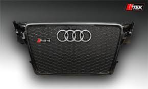 audi a4 b8 grill upgrade lltek rs styling grills for audi a4 cars 1996 2017