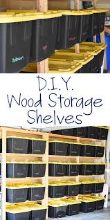 how to make wood storage shelves organizing storage and wood