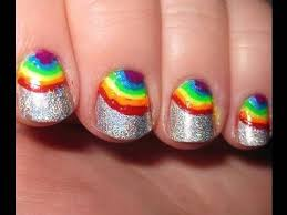 253 best rainbow nails images on pinterest rainbow nails make