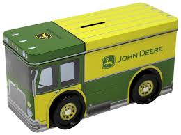 John Deere Home Decor by Amazon Com The Tin Box Company 862407 12 John Deere Truck Bank