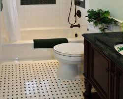 amazing black and white vinyl bathroom floor tiles for designing