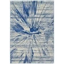 zipcode design angeline blue area rug allmodern rugs