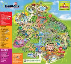 Legoland Florida Map by Legoland California Resort Legoland In Florida