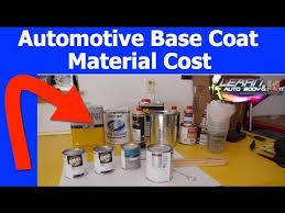 automotive base coat paint cost grades of base coat paint youtube