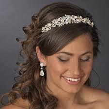 rhinestone headbands floral rhinestone chagne elegance bridal headband hp 7539 gold