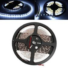 dc led strip lights 5m white 3528 smd led strip light non waterproof 12v dc us 3 29