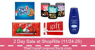 gift card sale hot shoprite s 2 day sale 11 24 25 20 free groceries w gift