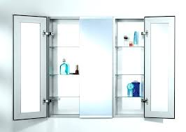 48 inch medicine cabinet recessed 48 medicine cabinet 2 door x surface mount medicine cabinet with led