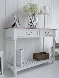 White Hallway Table Tables And Consoles Brilliant Hallway Console Table With