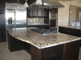 Kitchen Hood Island by Dining U0026 Kitchen Gorgeous Granite Countertop Edges With Kitchen