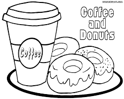Majestic Design Coffee Coloring Pages Theme Free Printable And Cup Cup Coloring Page