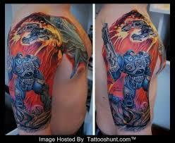 robot tattoos tattoos for men robot tattoo d robot tatunka
