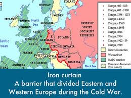 Map Of Cold War Europe by Cold War By Angie Ramirez