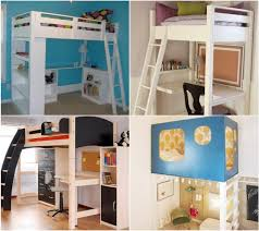 Plans For Building A Loft Bed With Desk by 20 Do It Yourself Study Spaces Home Stories A To Z