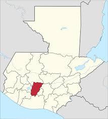 Guatemala World Map by Chimaltenango Department Wikipedia