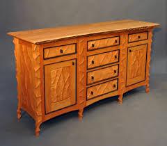 john wesley williams furniture birdseye maple sideboard