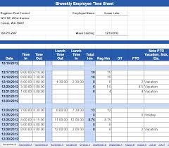 Bi Weekly Timesheet Template Excel Biweekly Emplyee Timesheet Template With In And