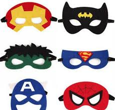 Batman Kids Halloween Costume Batman Masks Superhero Mask Kids Costume Masks Decoration Masks
