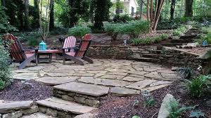 Cutting Patio Pavers 33 Stone Patio Ideas Pictures Designing Idea