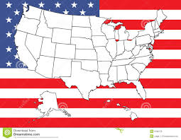 Us Flag Vector Free Download Map Of Us With Flag Stock Vector Image Of Background 9198178