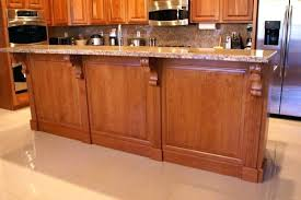 kitchen island corbels kitchen island corbels add character to your kitchen island using
